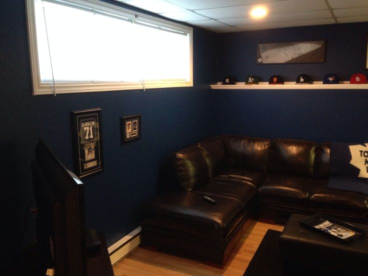 Our Toronto maple leaf man cave !