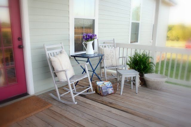 My Country Front Porch - Cedar Hill Farmhouse