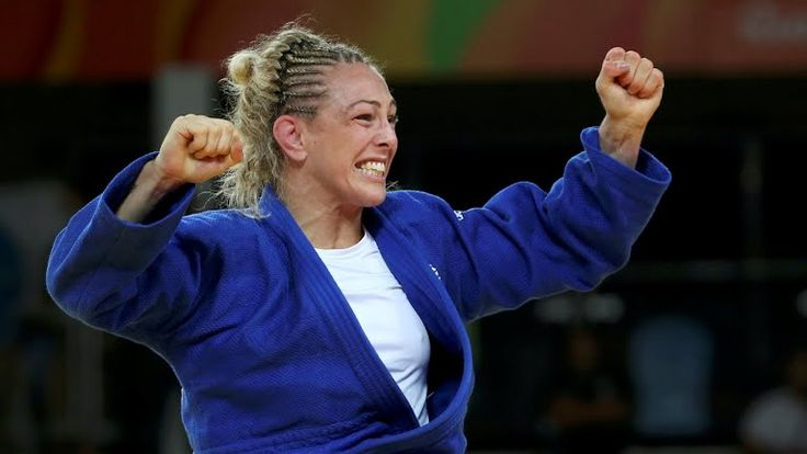 Team GB's Sally Conway -70kg Olympic Bronze Medallist (Rio 2016)