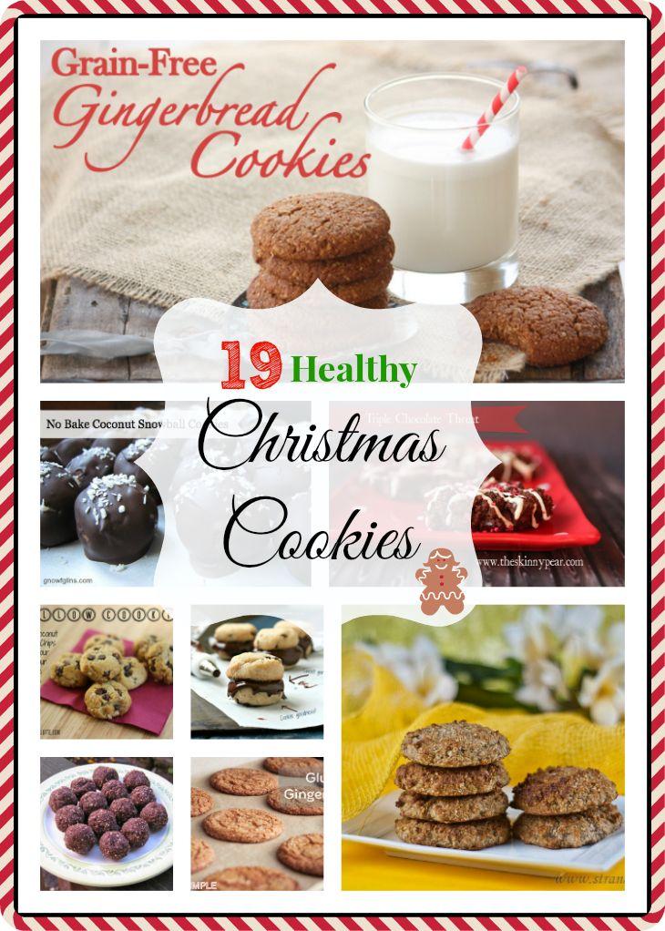 19 Grain-Free Healthy Christmas Cookies - Homemade for Elle