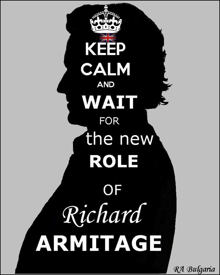 Richard Armitage he's pretty much amazing