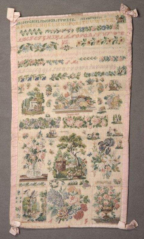 A Fabulous 19th Century FRENCH Sampler