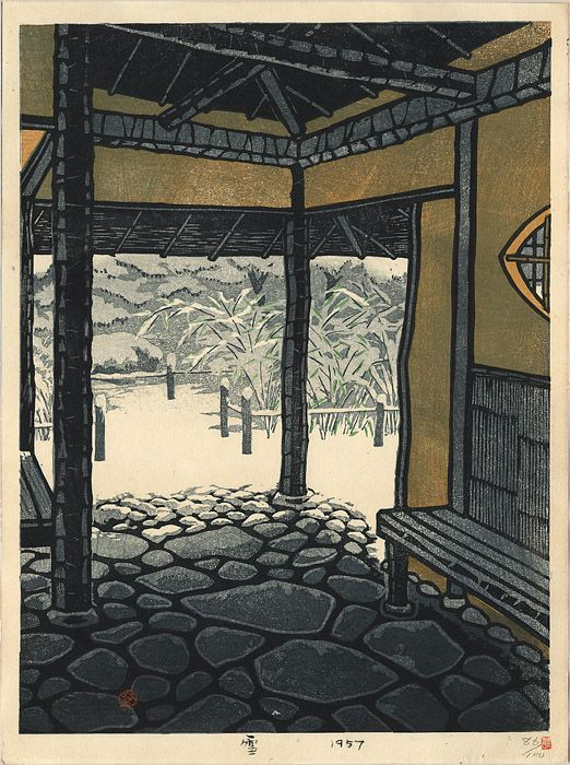 Snow, by Shiro Kasamatsu, 1957: