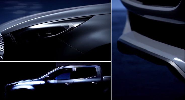 New Mercedes-Benz Pickup Truck Looks Like An AMG-Faced Nissan Navara #Concepts #Mercedes
