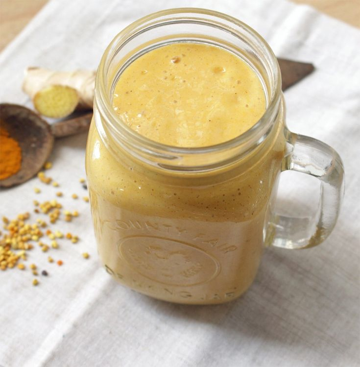 Nobody needs medication when they have natural and powerful smoothie like this Turmeric is very beneficial for your health