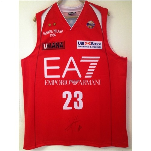Keith Langford #23 Autographed Jersey