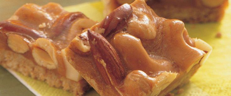 Are rich nuts difficult for you to turn down?  If so, you'll love these rich, loaded nutty bars.