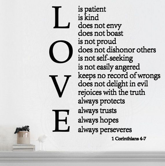Love Is Patient Quote Enchanting The 25 Best Love Is Patient Ideas On  Pinterest Wedding Aisle