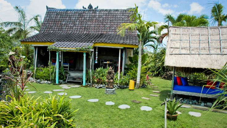 One of the cottages at the Desa Seni - Bikram Yoga Retreat 18 - 25 August 2013