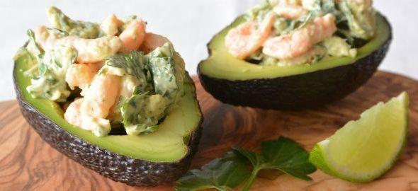 avocado garnalen cocktail