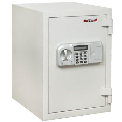 FireKing Fireproof Electronic Lock Security Safe 0.97 CuFt