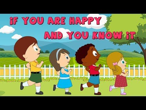 If You're Happy And You Know It | Kid Song and Nursery Rhymes for Children - YouTube