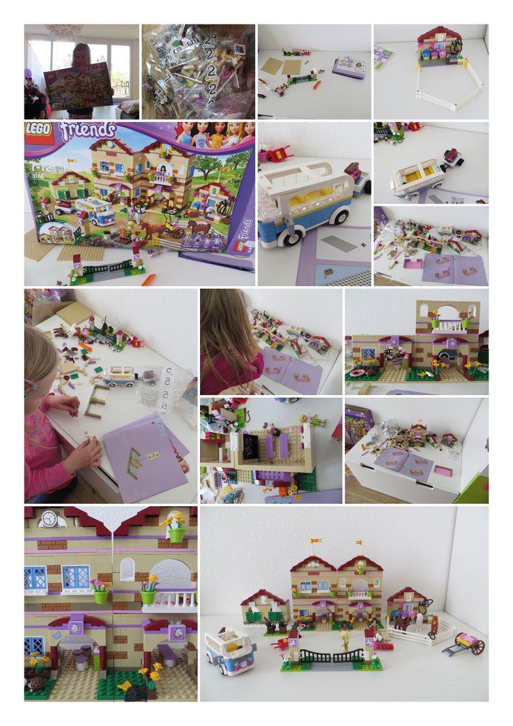#Lego ® Friends Reiterhof – der Traum kleiner Pferdenärrinnen