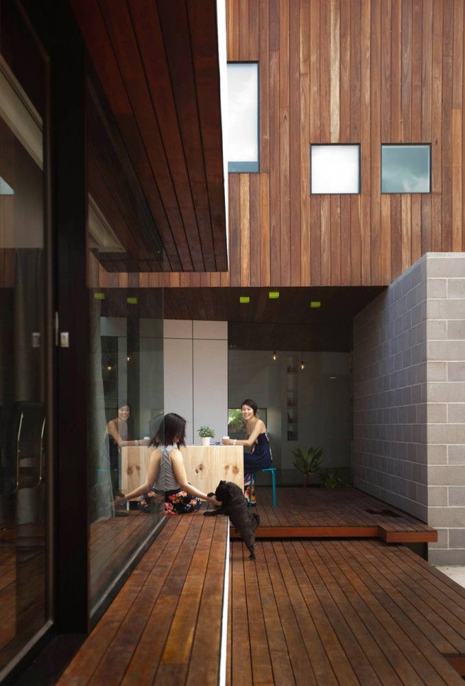 hans house, by m.o.d.o :: beautiful spatial planning encourages interior + exterior flow.