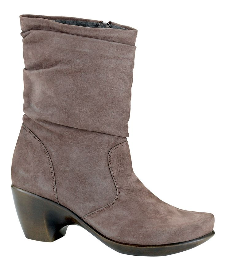 Look at this NAOT Shitake Modesto Leather Boot on #zulily today!