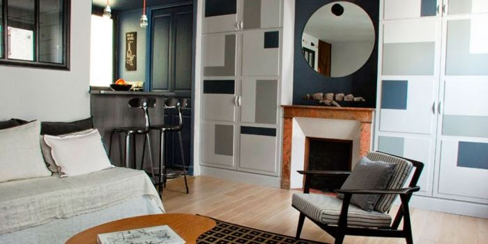 5 designlessen uit een Parijs' appartement van 30m2 | ELLE Decoration NL