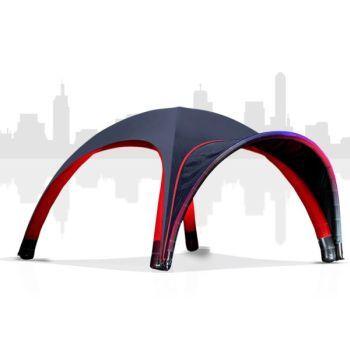 4x4m Aufblasbares Pneumatic Dome Zelt - MAIN-ZELT - Unsere Zelte haben ein modernes Design und können mit Zubehörartikeln wie z.B Eingangstunnel oder Holsaumen individuell gestaltet werden.