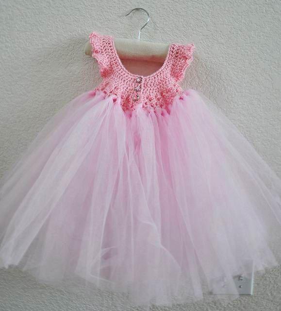 PASO A PASO ----- Free Crochet Pattern: Princess Dress