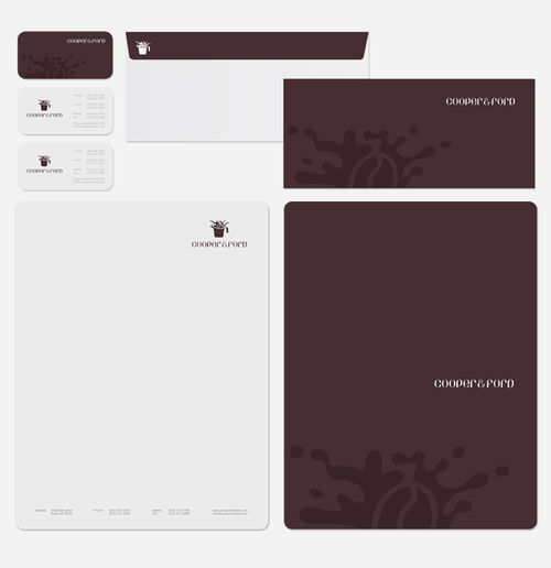 how to create a letterhead for email