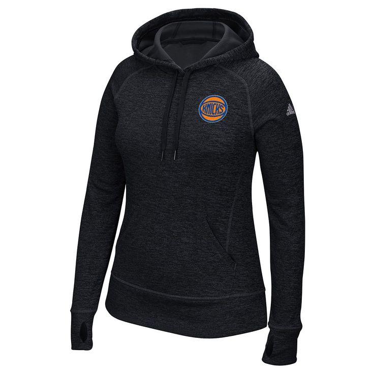 Women's Adidas New York Knicks Preferred Logo Hoodie, Size: Medium, Black