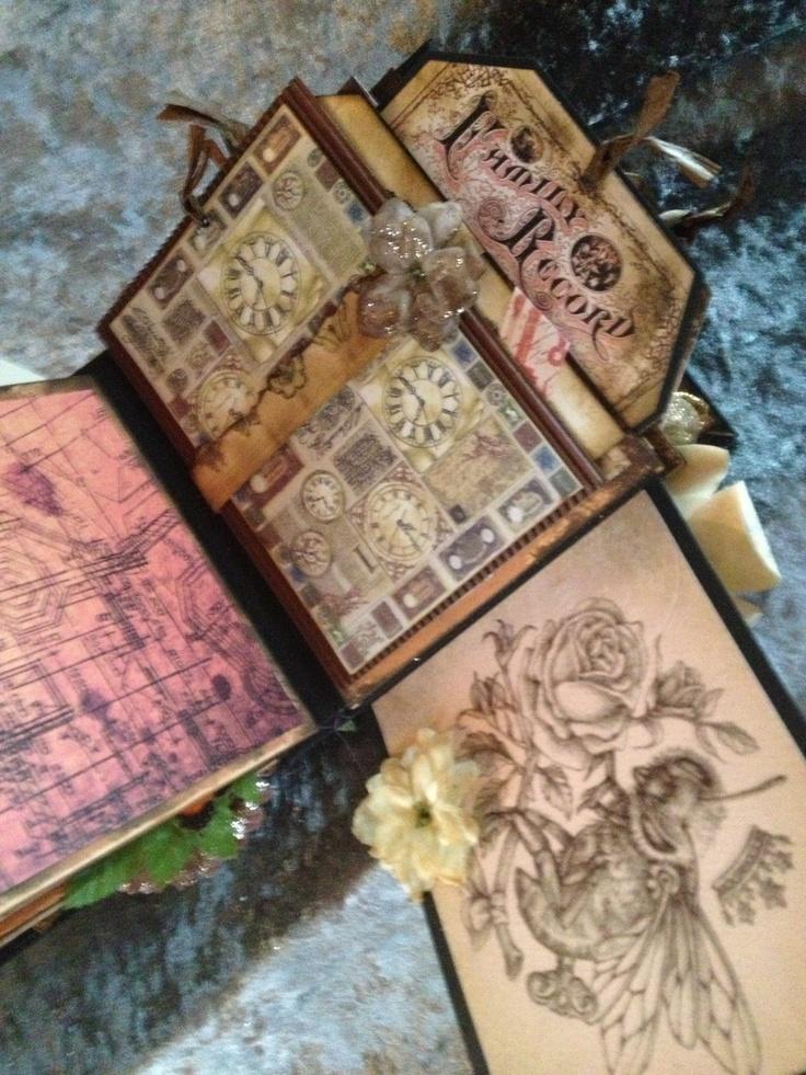 Steampunk Minialbum1