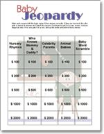 Image Result For Baby Jeopardy Game Questions And Answers