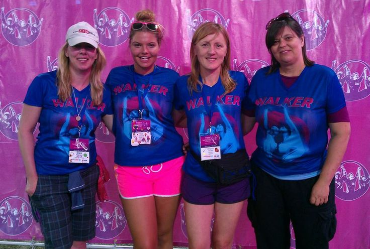 Team Jardino Supports The 2013 Toronto Weekend to End Women's Cancers! Team Jardino at the Closing ceremonies at the Rogers Centre