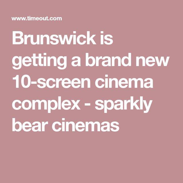Brunswick is getting a brand new 10-screen cinema complex - sparkly bear cinemas