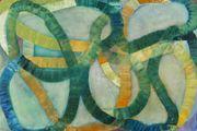 "Ildiko Kovacs new major work ""In the thick"" 2012 180 x 270cm on show at Martin Browne Fine Art Paddington. Gorgeous"