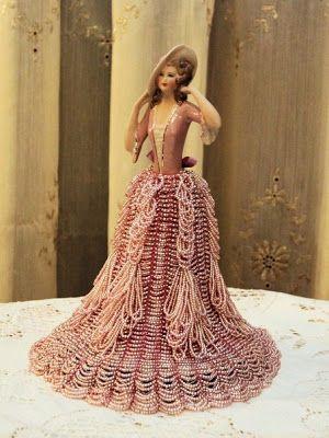 """Mooie hart dingen: """"De helft poppen in kralen jurken"""""""