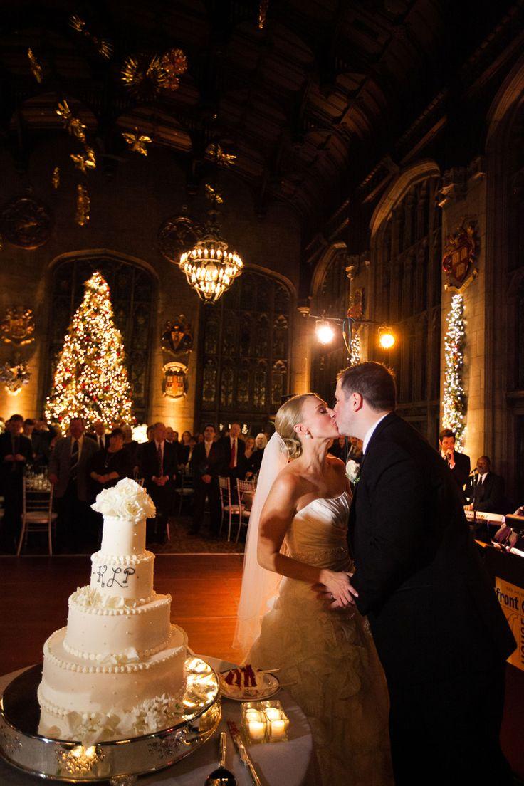 Classic Chicago Christmas Wedding