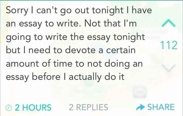 funny student essay hell