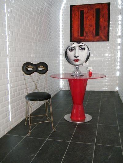 "MOSCHINO LOVES ALTREFORME - ""Maschera"" Chair | LUISAVIAROMA | worldwide shipping"