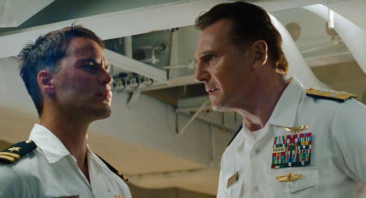 Battleship : Photo Liam Neeson, Peter Berg, Taylor Kitsch