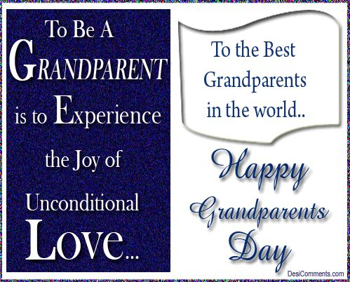 Grandparents Day Pictures, Images, Photos Sept. 13, 2015