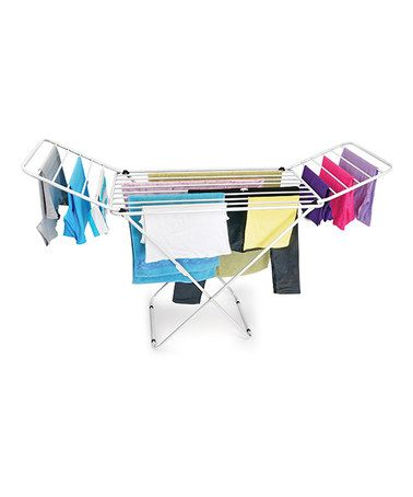 Another great find on #zulily! Mighty Clothes Drying Stand #zulilyfinds