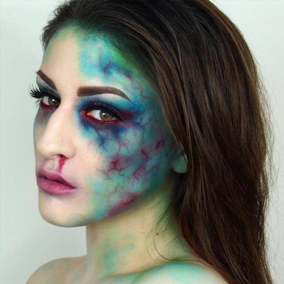 Fun Halloween Makeup Ideas. Sheknows Last-Minute Halloween Makeup ...