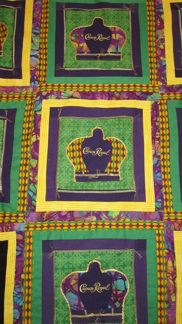 Beautiful Crown Royal Quilt The Hippie In Me Crown