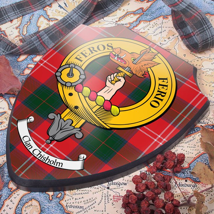 Chisholm Clan Crest Wall Plaque in 2020 Scottish clan