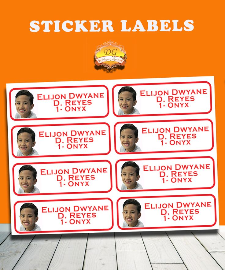 PERSONALIZED STICKER LABELS :) BACK TO SCHOOL!! :)   Organize your child's school supplies such as books and notebooks with stickers! Put your child's name and school/ class section. Customize ANY CHARACTER and ANY COLOR! <3     Send us a message on facebook DG Precious Touch for your inquiries :)