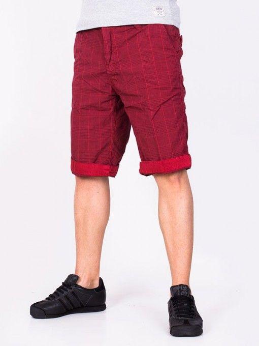 Pantaloni scurti barbati Popular Co. rosii