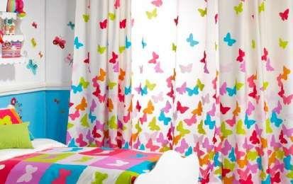 Oltre 1000 idee su tende colorate su pinterest tende in - Tende per cameretta bambina ...