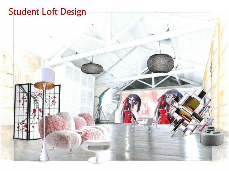 Student Loft Design
