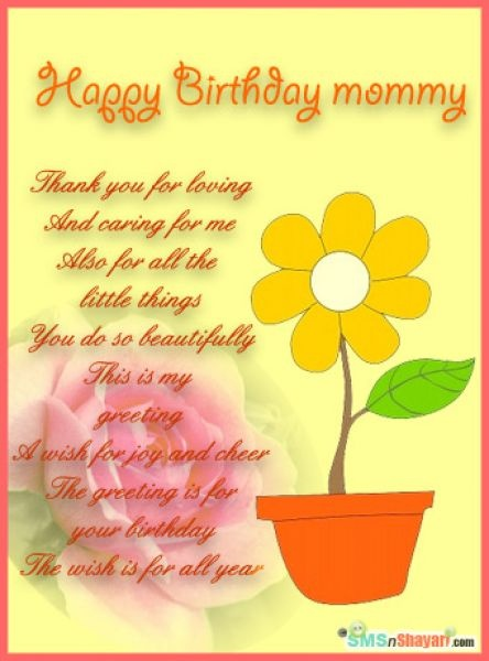 Best 25 Mom birthday quotes ideas – Birthday Card for My Mother