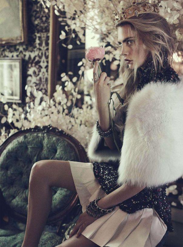 Cara Delevingne by Benny Horne for Vogue Australia October 2013 3