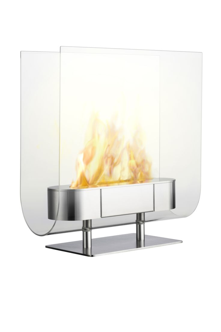 Fireplace for effect on a cosy winter evening. Looks great on a low sideboard or on floor