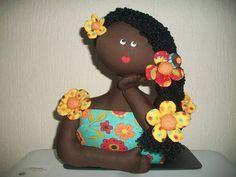 Boneca Namoradeira (com molde)