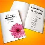 A LoveBook can hold all the memories of the year before your paper gift ideas.