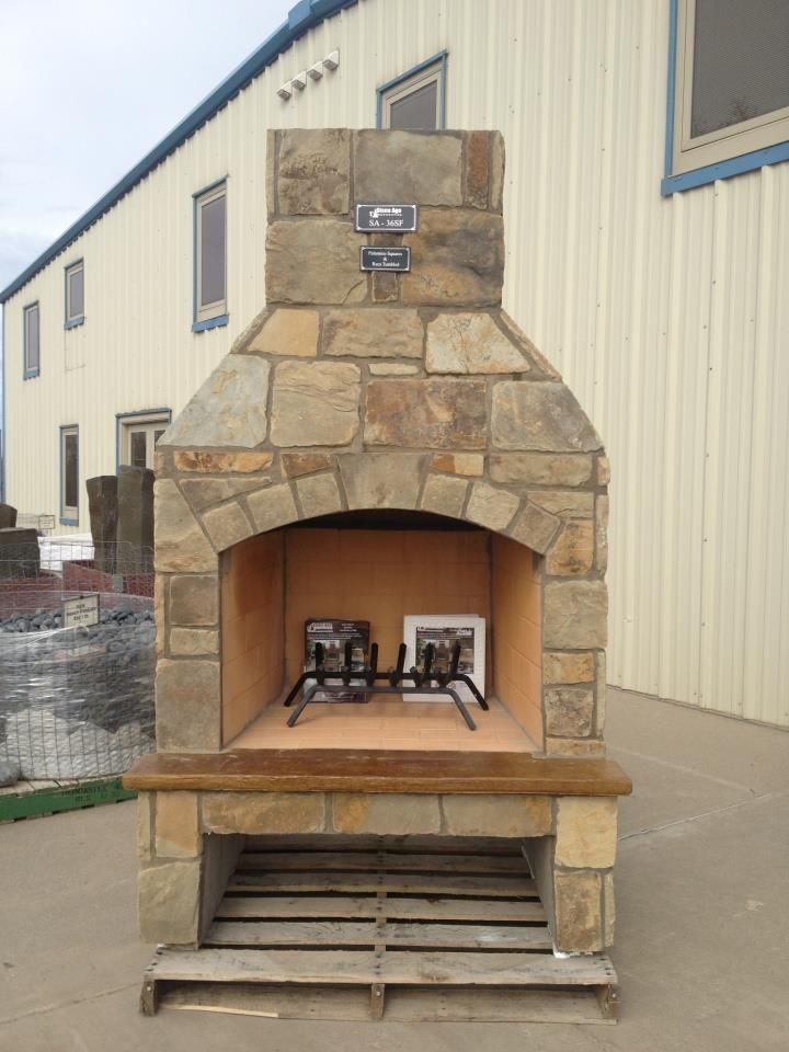 30 best stone age manufacturing images on pinterest for Pre engineered outdoor fireplace
