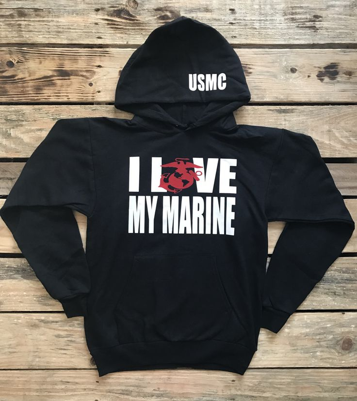 Marine Sweatshirt, Marine Hoodie, Marine Wife, Marine Girlfriend, Marine Fiance, Marine Boyfriend, Army Wife, Marine, USMC Wife by LovingMyHero143 on Etsy